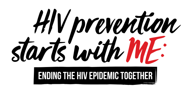 HIV prevention starts with ME.